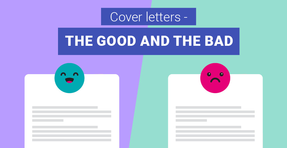 Examples of what makes a good cover letter versus a bad ...